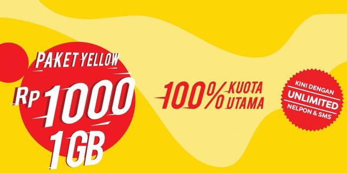 promo paket internet indosat yellow termurah - geraibayar.com