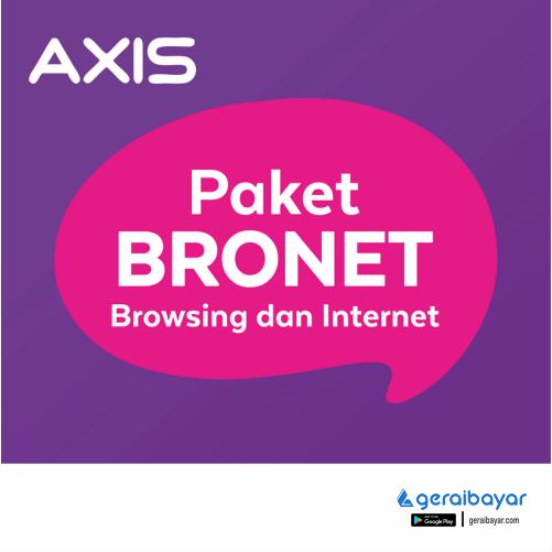 Paket Internet AXIS DATA BRONET - DATA AXIS BRONET 1GB 30 HARI