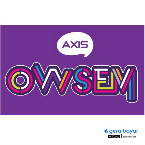 Paket Internet AXIS DATA OWSEM - OWSEM 3GB+9GB(4G)30HARI