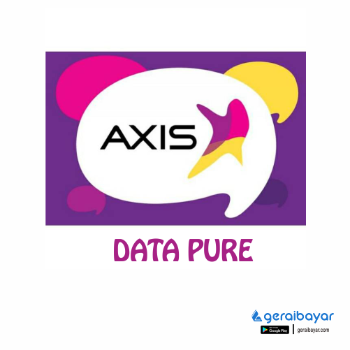Paket Internet AXIS DATA PURE - AXIS DATA PURE 12GB  60HARI