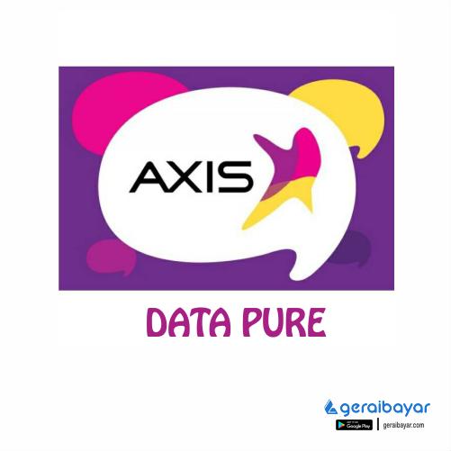 Paket Internet AXIS DATA PURE - AXIS DATA PURE 16GB  60HARI