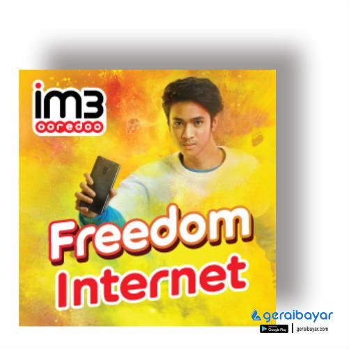 Paket Internet INDOSAT DATA FREDOOM INTERNET - FREEDOM INTERNET 18GB 30HR