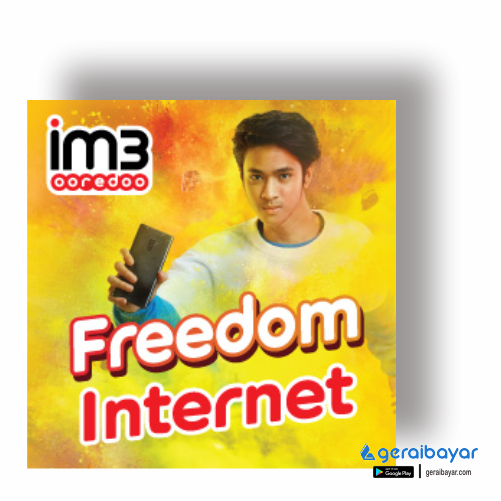 Paket Internet INDOSAT DATA FREDOOM INTERNET - FREEDOM INTERNET 25GB 30HR