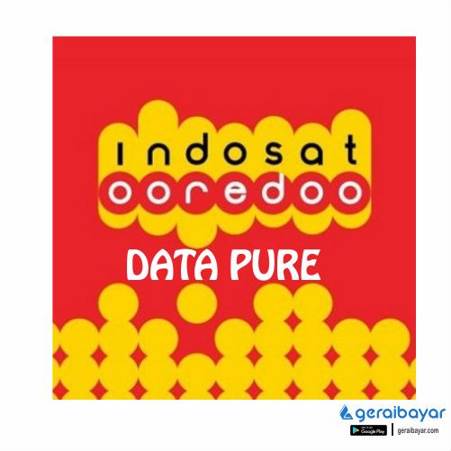 Paket Internet INDOSAT DATA PURE - ISAT DATA PURE 400MB 30 Hari