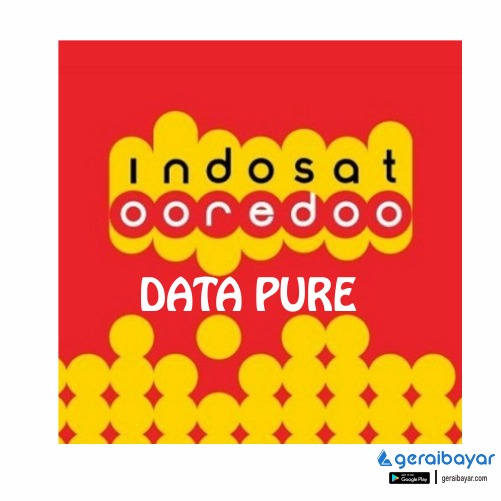 Paket Internet INDOSAT DATA PURE - ISAT DATA PURE 8GB 30 Hari