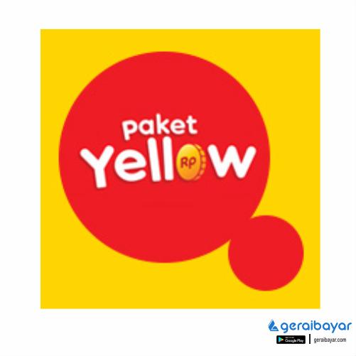 Paket Internet INDOSAT DATA YELLOW - YELLOW 1GB 1HARI