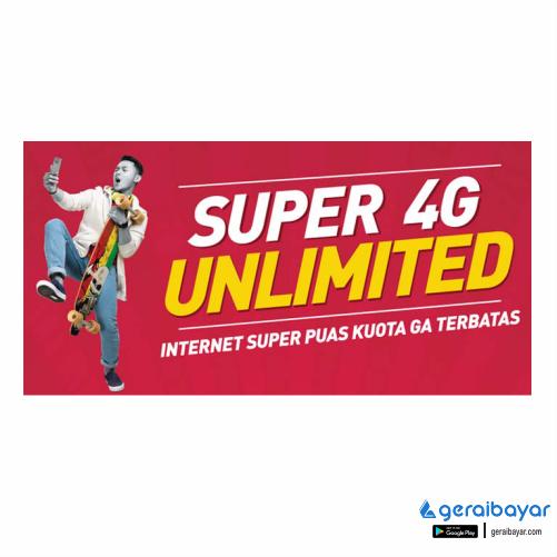 Paket Internet SMARTFREN DATA UNLIMITED - SMART DATA UNLIMITED (FUP 1GB/HARI) 28HR