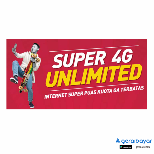 Paket Internet SMARTFREN DATA UNLIMITED - SMART DATA UNLIMITED (FUP 1GB/HARI) 14HR