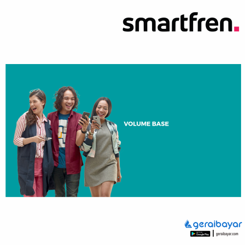 Paket Internet SMARTFREN DATA VOLUME - 4GB + 4GB ( 01-05 ) + 1GB Chat + Telp Sesama, 30 HARI