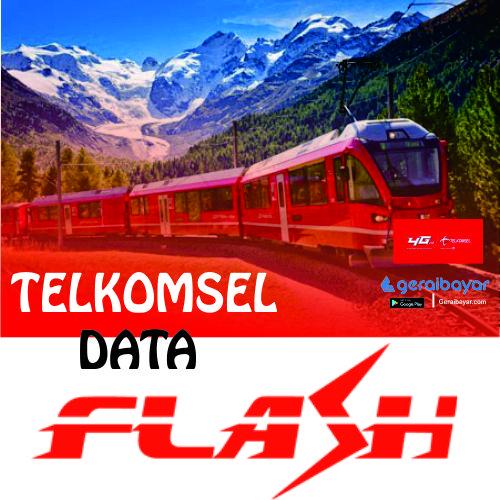 Paket Internet TELKOMSEL DATA FLASH - TSEL FLASH 1GB 30 HARI