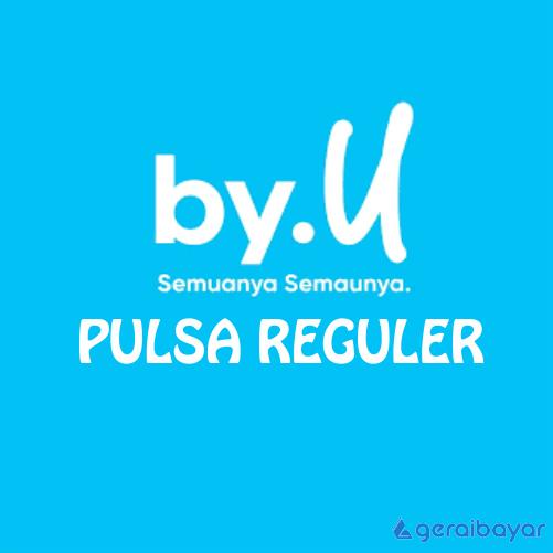 Pulsa BY U REGULAR - BY U REGULER 10.000