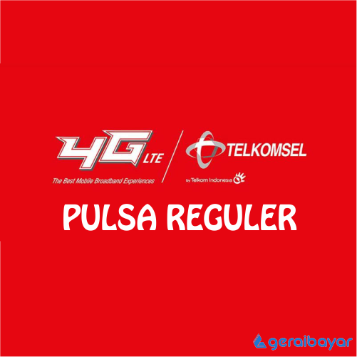 Pulsa TELKOMSEL REGULAR - TELKOMSEL REGULAR 10.000