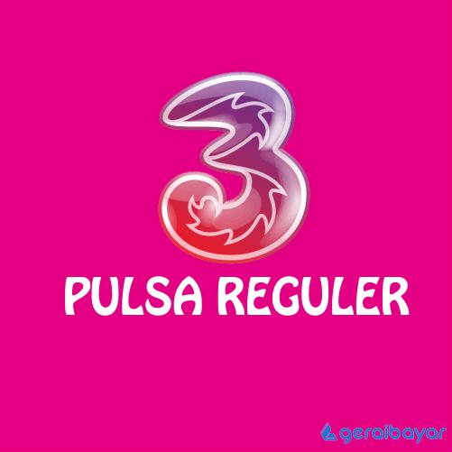 Pulsa THREE REGULAR - THREE REGULAR 25.000