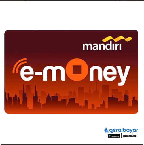 E-Money EMONEY MANDIRI - EMONEY MANDIRI 100.000