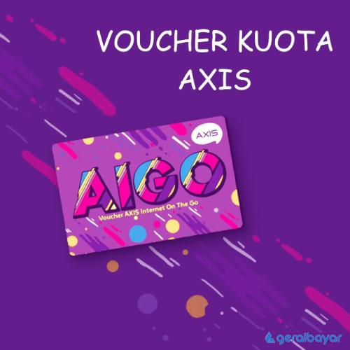 Voucher Data Voucher Axis Bronet AIGO - AIGO 2GB 30 Hari