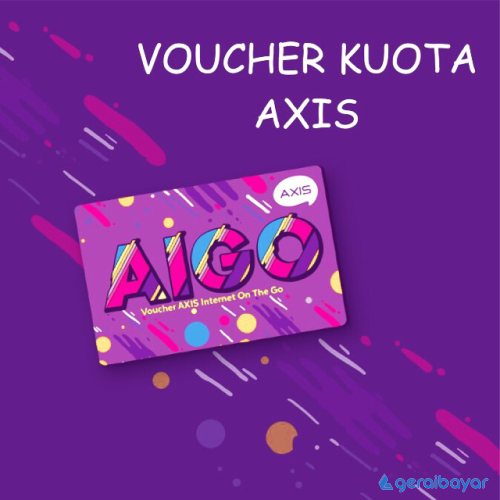 Voucher Data Voucher Axis Bronet AIGO - AIGO 3GB 30 Hari