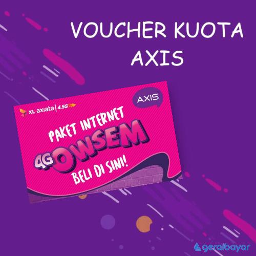 Voucher Data Voucher Axis Owsem - Owsem 24GB (3GB (3G/4G) + 9GB (4G) + 12GB Game) 30Hr